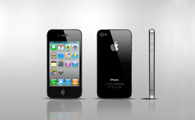 Apple iPhone 4 Black Color