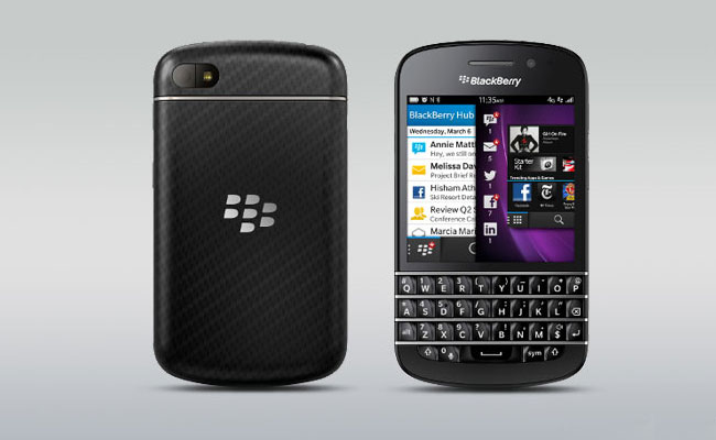 BlackBerry Q10 Picture