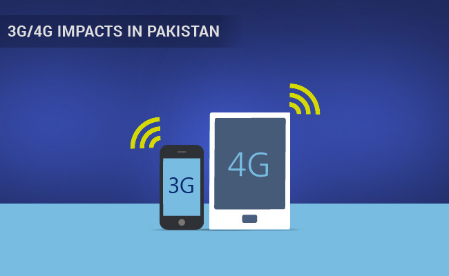 3G/4G Impacts in Pakistan