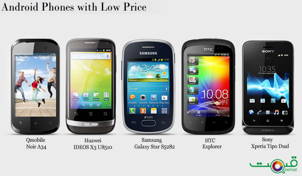Android Phones with Low Price Range