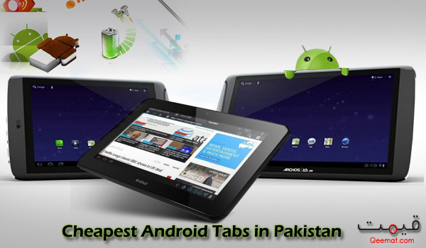 Cheapest Android Tabs