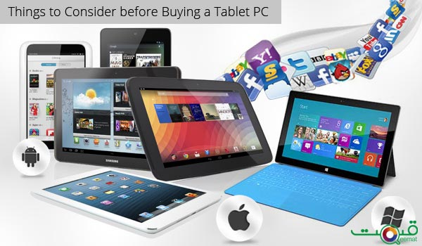 Things To Consider Before Buying A Tablet PC