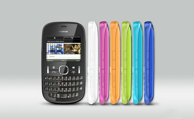 Nokia Asha 200 Colors