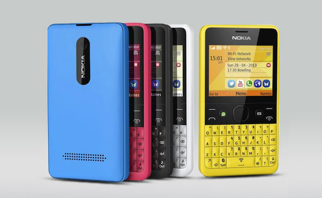 Nokia Asha 210 Colors