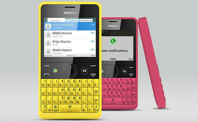 Nokia Asha 210 Display