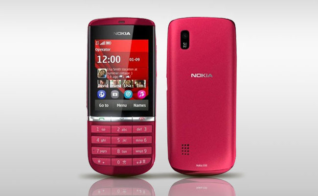 Nokia Asha 300 Features