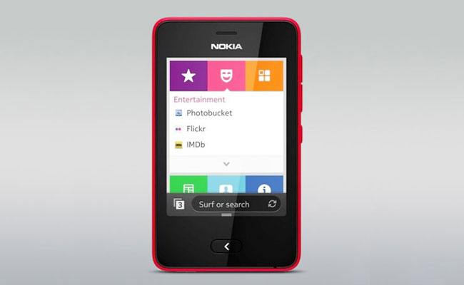 Nokia Asha 501 Display