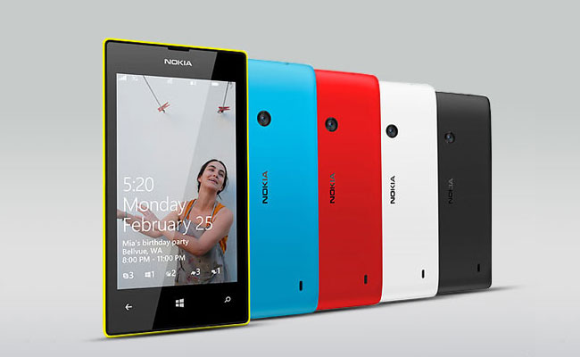Nokia Lumia 520 Colors