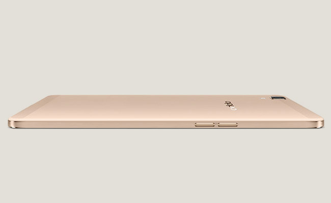 Oppo R7s Back View