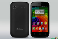 QMobile Bolt A4 Front And Back