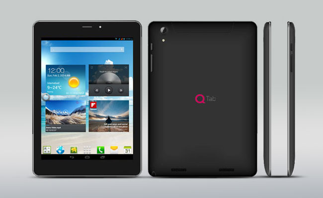 Qmobile q800 q tab price and specs for Q tablet with price