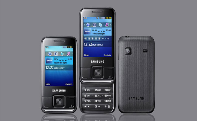 Samsung E2600 Pictures
