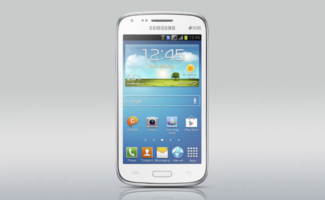 Samsung Galaxy Core White Color