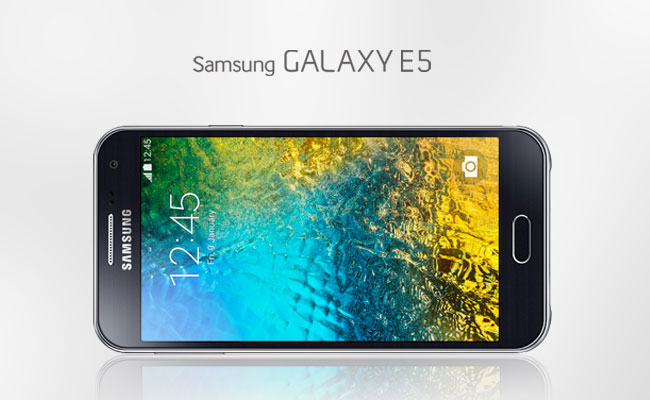 Samsung Galaxy E5 Display