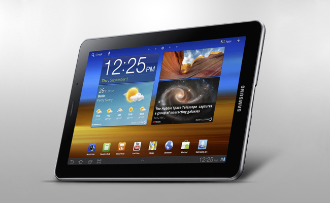 Samsung Galaxy Tab 7.7 Display