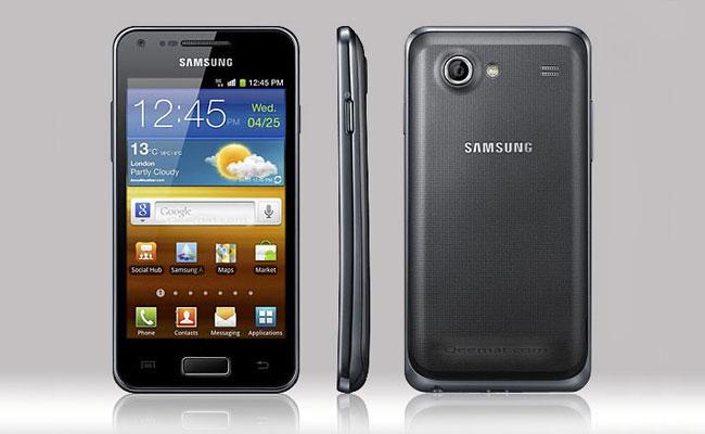 Samsung Galaxy S Advance Pictures
