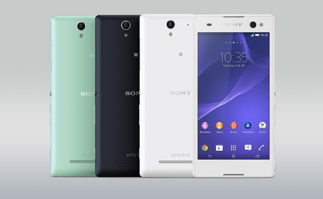 Sony Xperia C3 Colors