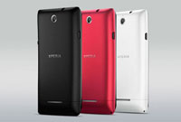 Sony Xperia E Back Colors