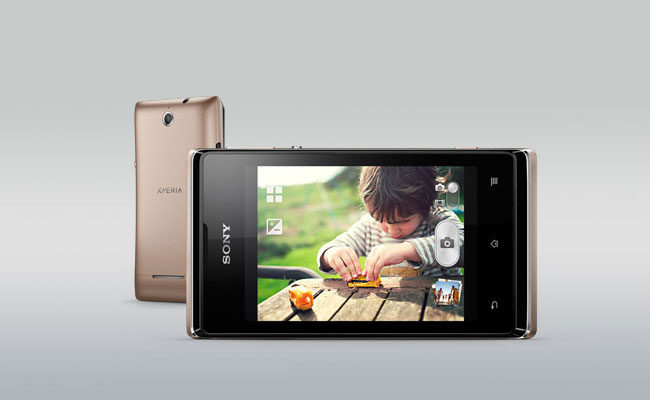Sony Xperia E Dual Display