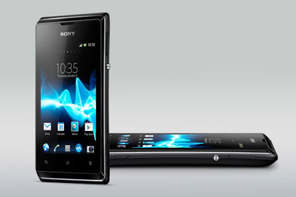 Sony Xperia E Side View