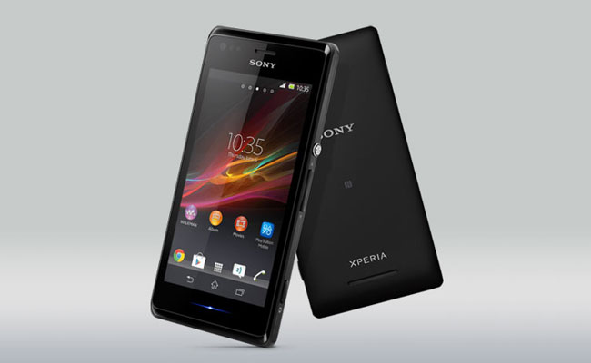 Sony Xperia M Black Color