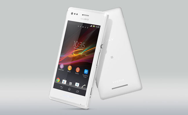 Sony Xperia M White Color