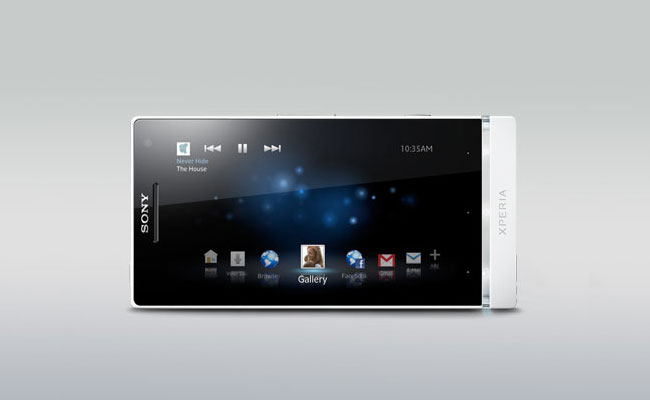 Sony Xperia S Display