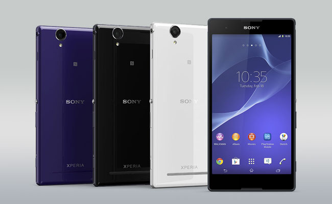 Sony Xperia T2 Ultra Colors