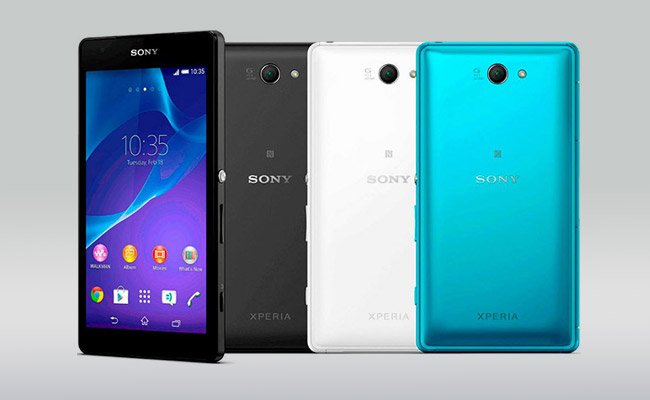 Sony Xperia Z2a Colors